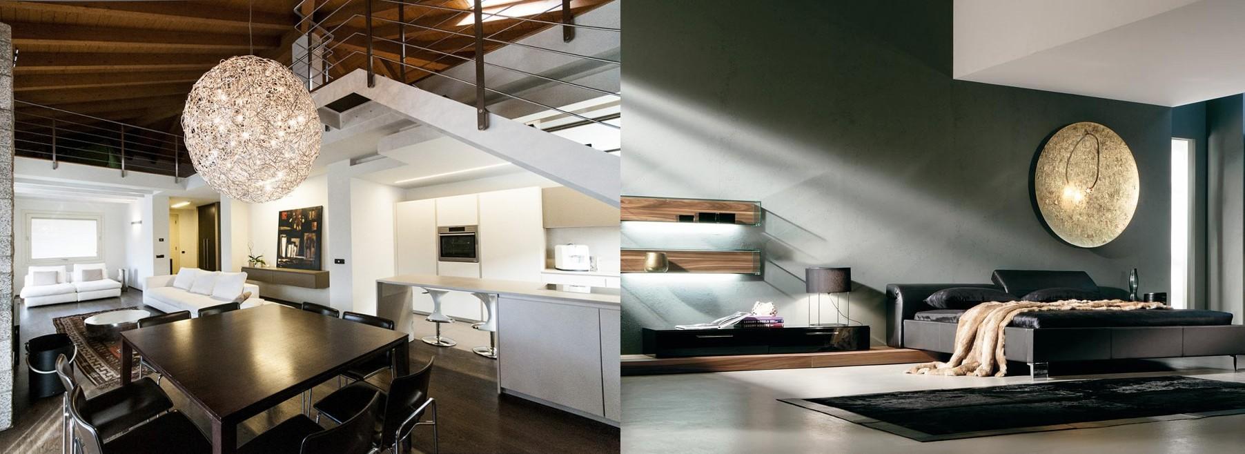 Rocco Illuminazione Brescia. Illuminazione per interni ed esterni
