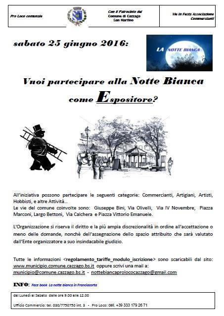 NOTTE BIANCA 3