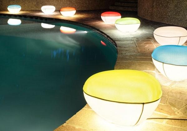 Illuminazione giardino piscina design moderno giardino garden