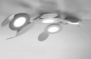 Da rocco a brescia modello mickey lampada led soffitto parete