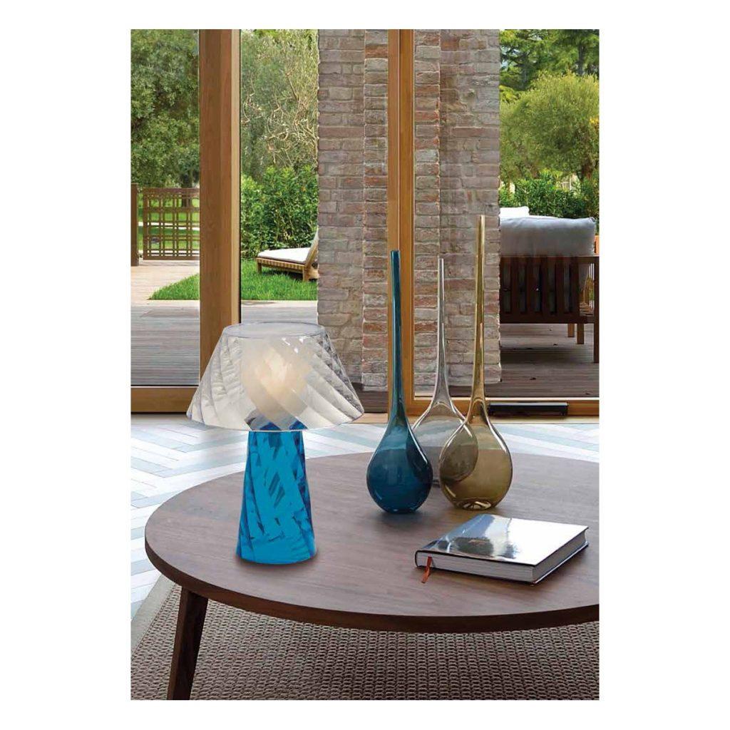 Lampada Da Tavolo Lightcolors Bluetooth Blu  2022