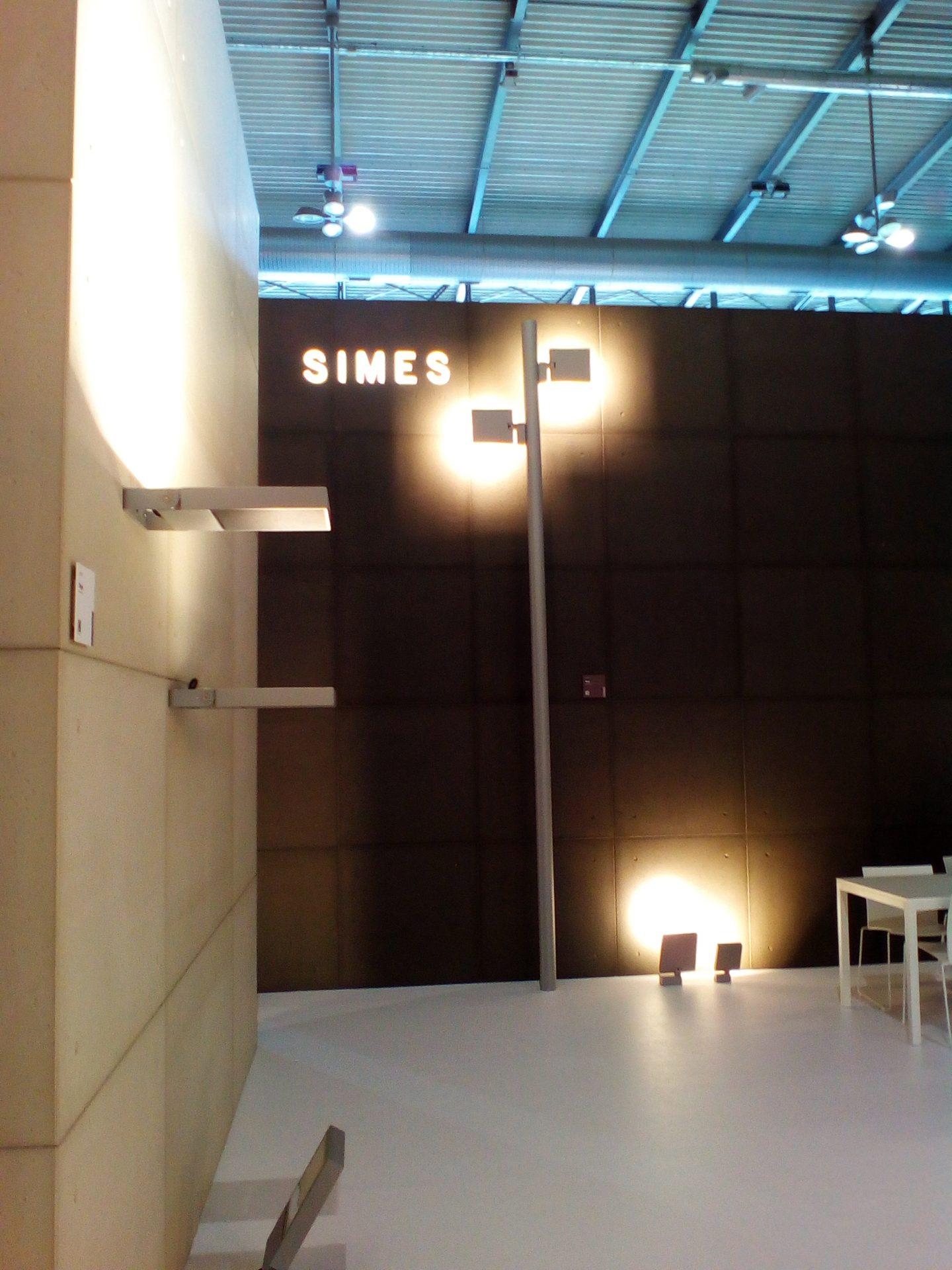 Da Rocco illuminazione a Brescia i modelli Simes presentati a EUROLUCE
